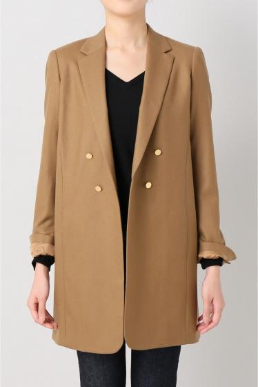���ѥ�ȥ�� �ɥ����������� ���饹 ��*M'S BRAQUE W Long Jacket ������