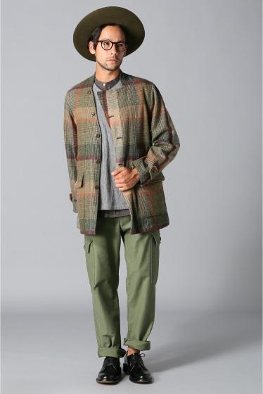 ���㡼�ʥ륹��������� TS(S)  /  �ƥ����������� : Foldable Front Collarless Jacket �ܺٲ���1