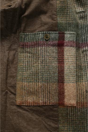 ���㡼�ʥ륹��������� TS(S)  /  �ƥ����������� : Foldable Front Collarless Jacket �ܺٲ���14
