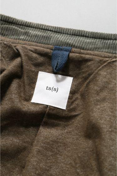���㡼�ʥ륹��������� TS(S)  /  �ƥ����������� : Foldable Front Collarless Jacket �ܺٲ���15