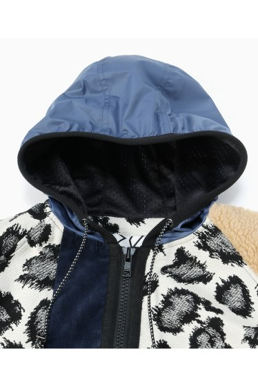 ���ƥ�����å� plumpynuts multi fabric hoodie jacket - CITYSHOP EXCLUSIVE - �ܺٲ���2