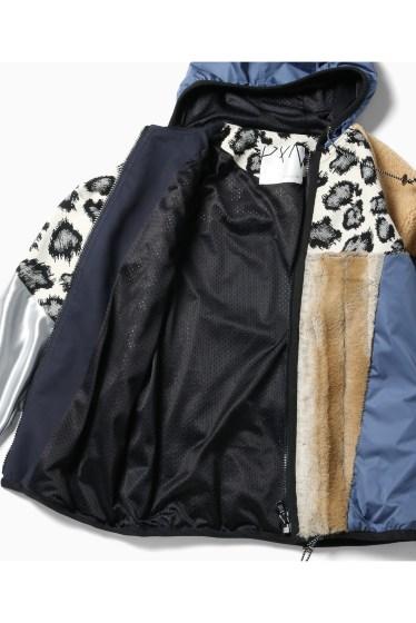 ���ƥ�����å� plumpynuts multi fabric hoodie jacket - CITYSHOP EXCLUSIVE - �ܺٲ���8