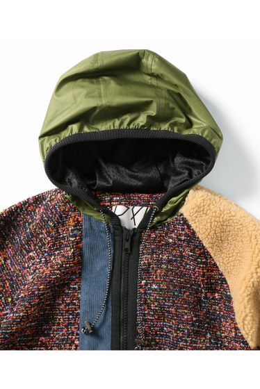 ���ƥ�����å� plumpynuts multi fabric hoodie - CITYSHOP EXCLUSIVE - �ܺٲ���2