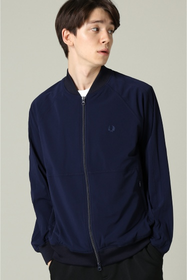 �����ܥ꡼ ������ ��FRED PERRY��rip-stop bomber track jk �ͥ��ӡ�