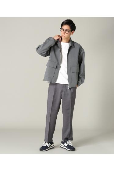 �ե�����֥� ���ǥ��ե��� taupe / �ȡ��� DOUBLE CLOTH ZIP �֥륾�� �ܺٲ���1