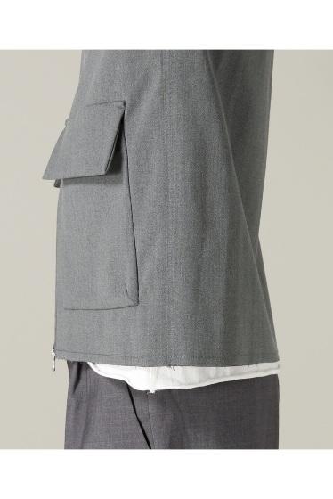 �ե�����֥� ���ǥ��ե��� taupe / �ȡ��� DOUBLE CLOTH ZIP �֥륾�� �ܺٲ���10
