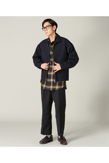 �ե�����֥� ���ǥ��ե��� taupe / �ȡ��� DOUBLE CLOTH ZIP �֥륾�� �ܺٲ���2