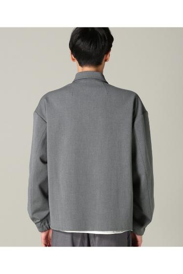 �ե�����֥� ���ǥ��ե��� taupe / �ȡ��� DOUBLE CLOTH ZIP �֥륾�� �ܺٲ���5