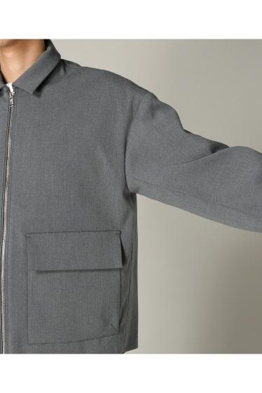 �ե�����֥� ���ǥ��ե��� taupe / �ȡ��� DOUBLE CLOTH ZIP �֥륾�� �ܺٲ���9