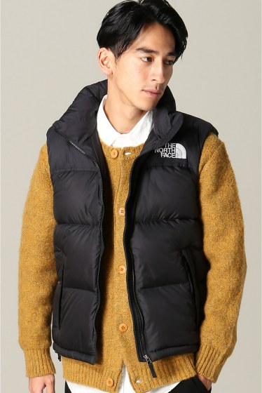 �ե�����󥻥֥� ���ǥ��ե��� THE NORTH FACE / �� �Ρ����ե����� NUPTSE VEST �֥�å�
