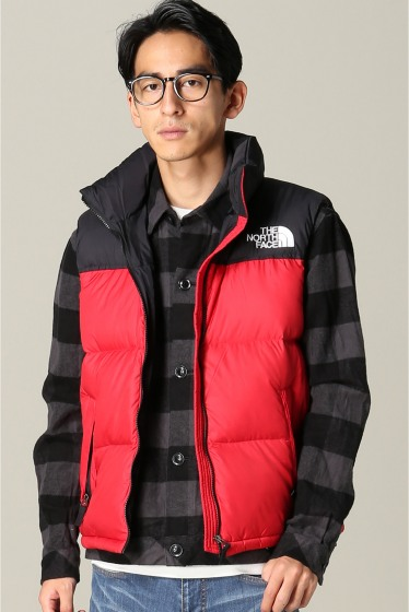 �ե�����󥻥֥� ���ǥ��ե��� THE NORTH FACE / �� �Ρ����ե����� NUPTSE VEST ��å�