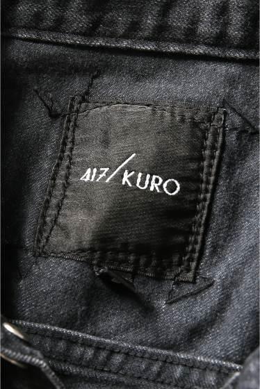 �ե�����֥� ���ǥ��ե��� KURO / ���� 417���� JETTA 3RD BL BLACK DENIM �ܺٲ���15