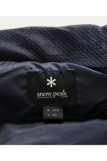 ���㡼�ʥ륹��������� ���塼�� Snow Peak / ���Ρ��ԡ���: Indigo C/N Down Vest / ������٥��� �ܺٲ���13