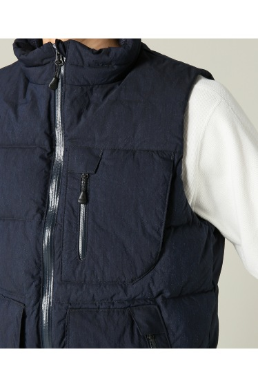 ���㡼�ʥ륹��������� ���塼�� Snow Peak / ���Ρ��ԡ���: Indigo C/N Down Vest / ������٥��� �ܺٲ���7