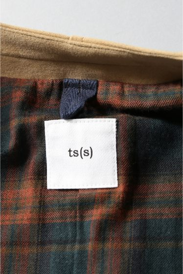 ���㡼�ʥ륹��������� TS(S)  /  �ƥ����������� : ���顼�쥹Zip-up�饤���������㥱�å� �ܺٲ���14