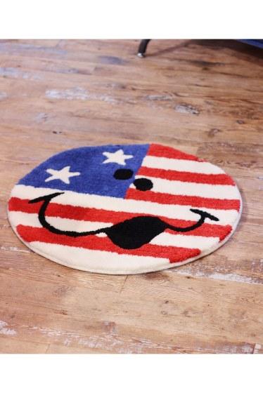 ���㡼�ʥ륹��������� �ե��˥��㡼 LH USA HIC SMILE RUG �������� K