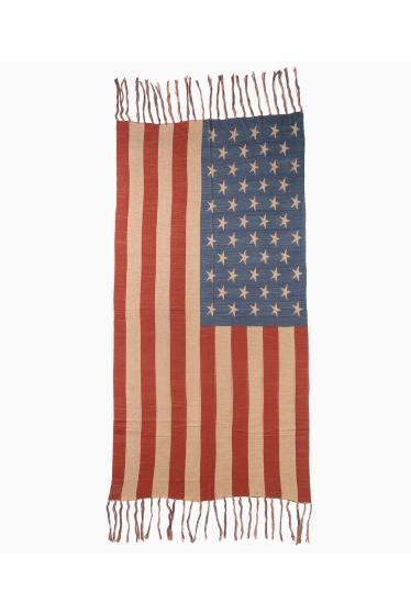 ���㡼�ʥ륹��������� �ե��˥��㡼 US FLAG WOOL BLANKET �ܺٲ���2