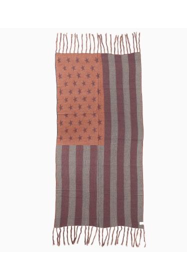 ���㡼�ʥ륹��������� �ե��˥��㡼 US FLAG WOOL BLANKET �ܺٲ���3