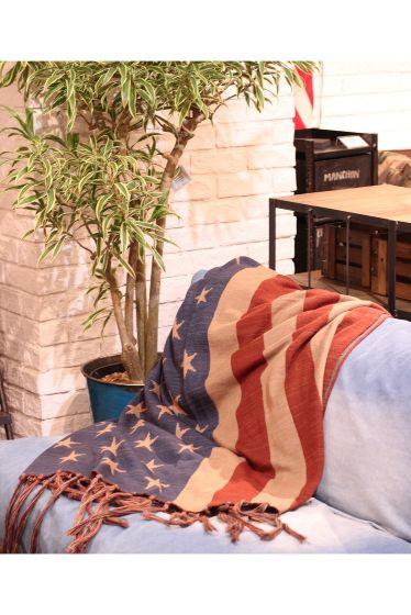���㡼�ʥ륹��������� �ե��˥��㡼 US FLAG WOOL BLANKET �ܺٲ���6