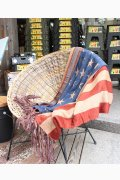 ���㡼�ʥ륹��������� �ե��˥��㡼 US FLAG WOOL BLANKET