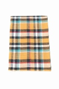 ���㡼�ʥ륹��������� �ե��˥��㡼 VINTAGE CHECK PILLOW CASE