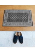 ������ �ե��˥��㡼 Cross Bandanna Rug 80*50 GRAY ���?�Х���ʥ饰�ޥå� ���졼
