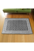 ������ �ե��˥��㡼 Cross Bandanna Rug 160*120 GRAY ���?�Х���ʥ饰�ޥå� ���졼