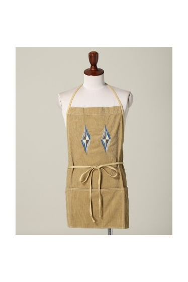 ���㡼�ʥ륹��������� �ե��˥��㡼 CORDUROY NATIVE APRON �ܺٲ���1