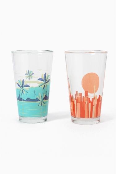 ������ �ե��˥��㡼 PIG��ROOSTER GLASS SET �������� K
