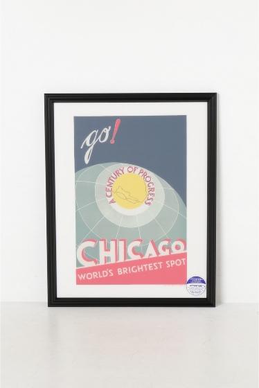 ������ �ե��˥��㡼 POSTER CHICAGO WORLDS BRIGHTEST SPOT �������� K