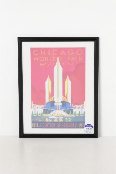������ �ե��˥��㡼 POSTER CHICAGO WORLDS FAIR �������� K