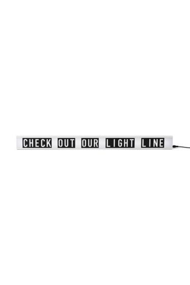 ������ �ե��˥��㡼 WALL LIGHT WITH LETTTER���쥿������������饤�� �ۥ磻��