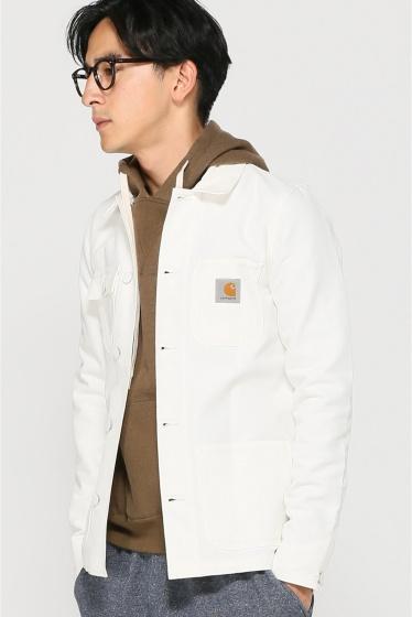 ���㡼�ʥ륹��������� ���塼�� Carhartt WIP: MICHIGAN CHORE Coat �ߥ�������祢������ �ۥ磻��