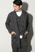 ���㡼�ʥ륹��������� RIDING HIGH / �饤�ǥ��󥰥ϥ�:TWEED NEP FLEECE COAT