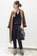 ���ѥ�ȥ�� �ɥ����������� ���饹 cashmere*wool Relax Coat��