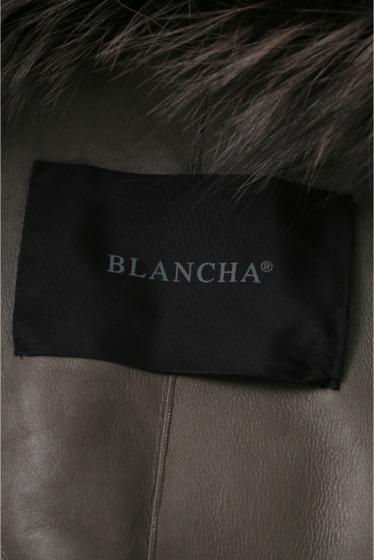 ���ѥ�ȥ�� �ɥ����������� ���饹 ��BLANCHA Mouton*Fox COAT �ܺٲ���10