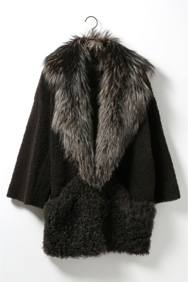 ���ѥ�ȥ�� �ɥ����������� ���饹 ��BLANCHA Mouton*Fox COAT �ܺٲ���12