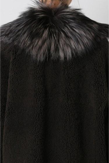 ���ѥ�ȥ�� �ɥ����������� ���饹 ��BLANCHA Mouton*Fox COAT �ܺٲ���5