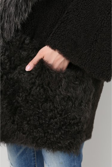 ���ѥ�ȥ�� �ɥ����������� ���饹 ��BLANCHA Mouton*Fox COAT �ܺٲ���7