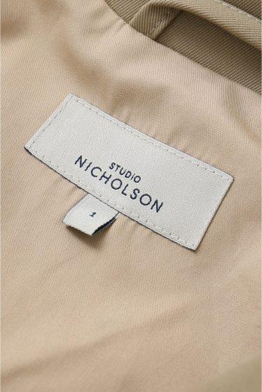 ���ѥ�ȥ�� �ɥ����������� ���饹 STUDIO NICHOLSON TRENCH COAT�� �ܺٲ���12