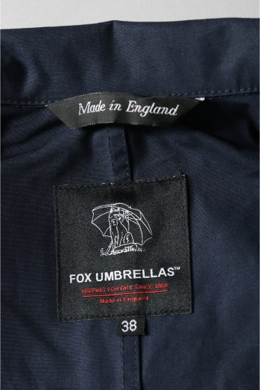 ���㡼�ʥ륹��������� FOX UMBRELLAS / �ե��å�������֥�饺:MENS COTTON MAC COAT �ܺٲ���16