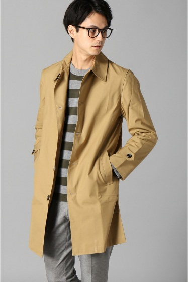 ���㡼�ʥ륹��������� FOX UMBRELLAS / �ե��å�������֥�饺:MENS COTTON MAC COAT �١�����