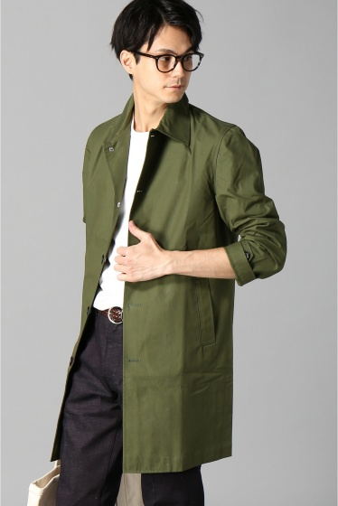 ���㡼�ʥ륹��������� FOX UMBRELLAS / �ե��å�������֥�饺:MENS COTTON MAC COAT ������