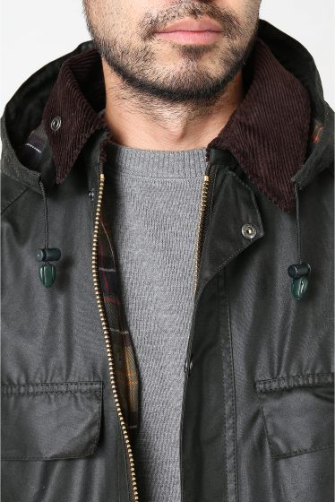 ���㡼�ʥ륹��������� BARBOUR SL HOODED OLD BEDALE��JS/���� �ӥǥ��� �ܺٲ���4