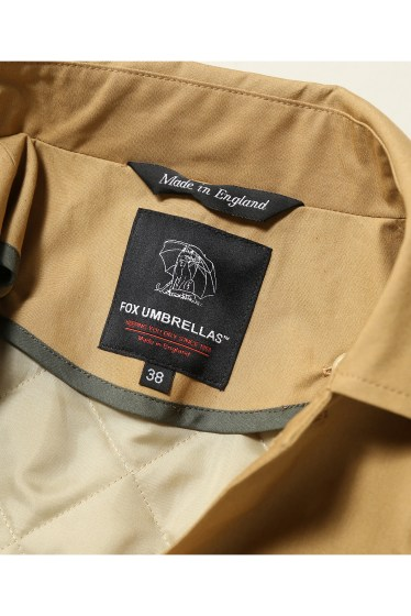 ���㡼�ʥ륹��������� fox umbrellas / �ե��å�������֥�饺:soutien collar coat w/line �ܺٲ���17