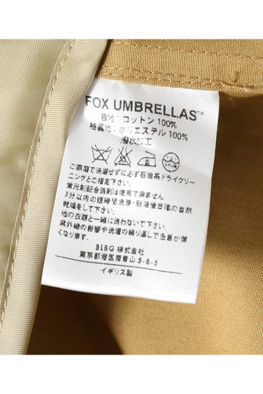 ���㡼�ʥ륹��������� fox umbrellas / �ե��å�������֥�饺:soutien collar coat w/line �ܺٲ���18