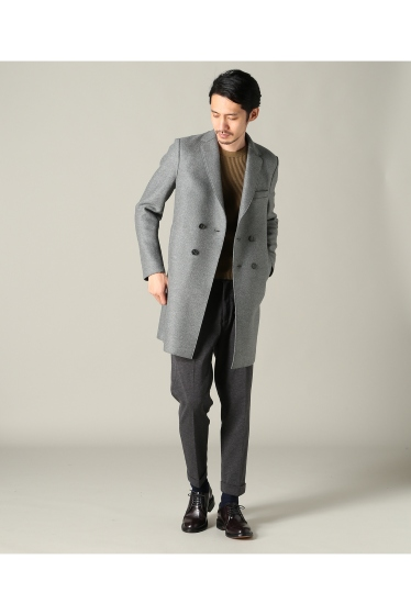 ���㡼�ʥ륹��������� harris wharf london /�ϥꥹ��ե��ɥ� : boxy D.B coat �ܺٲ���1