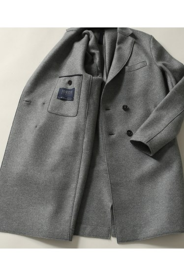 ���㡼�ʥ륹��������� harris wharf london /�ϥꥹ��ե��ɥ� : boxy D.B coat �ܺٲ���16