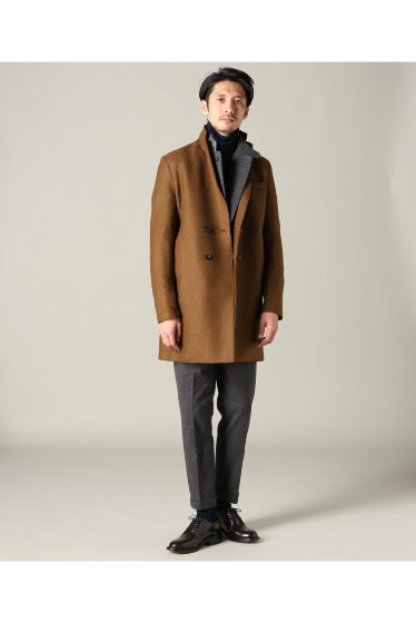 ���㡼�ʥ륹��������� harris wharf london /�ϥꥹ��ե��ɥ� : boxy D.B coat �ܺٲ���2