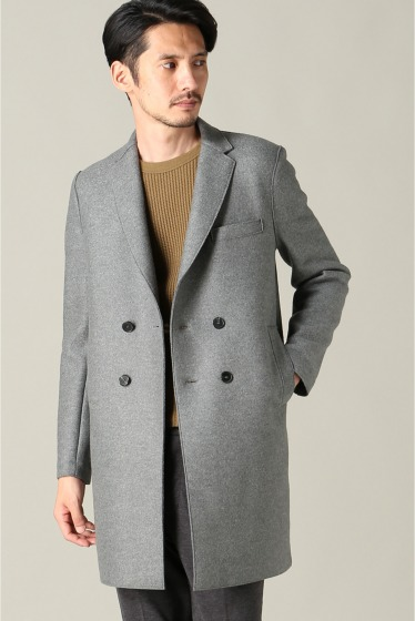 ���㡼�ʥ륹��������� harris wharf london /�ϥꥹ��ե��ɥ� : boxy D.B coat ���졼A
